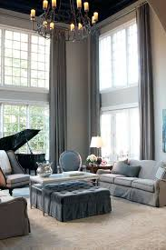Living Room Curtain Ideas Uk by Two Story Curtains An Easy Tutorial On Making Your Own Two Story
