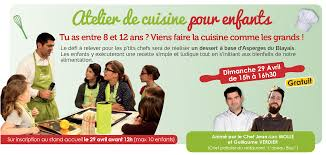 atelier cuisine enfants atelier de cuisine enfants fête de l asperge du blayais le 28 29