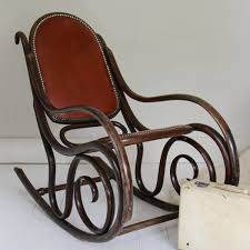 Early 20th Century Thonet Style Bentwood Rocking Chair