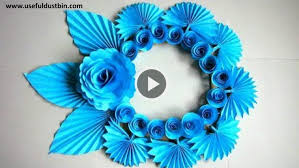 DIY Simple Paper Craft Ideas For Wall Decor