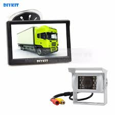 100 Camera Truck DIYKIT White Waterproof Color CCD Reverse Backup Car IR