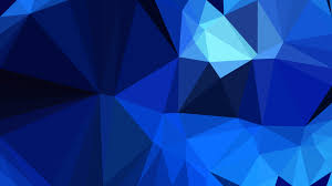 100 Cool Blue Design Polygon Background Template