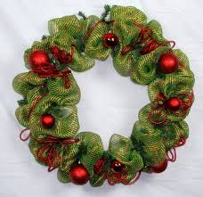 How To Make A Mesh Wreath Deco Tutorial With Pictures