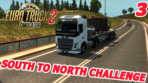 Euro Truck Simulator 2 - SWEDEN - South To North Challenge #3 - YouTube