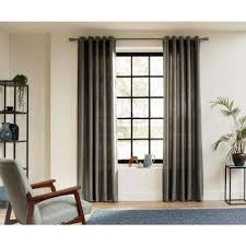 Curtain Rod Grommet Kit by Wood Curtain Rods U0026 Hardware Window Treatments The Home Depot