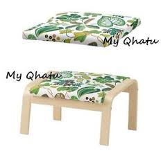 Ikea Poang Chair Cover Green by Ikea Poang Cushion For Footstool Simmarp Green Cushion Only