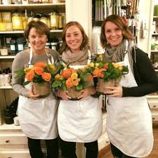 Spring Flower Arranging At Painted Tree Marketplace