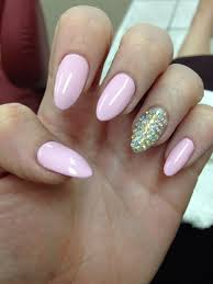 Acrylic nail designs almond shaped how you can do it at home