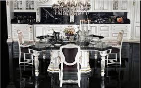 Black Kitchen Table Decorating Ideas by White Kitchen Table Set Interior Design