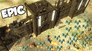 siege a epic castle siege a kingdom veil of crows gameplay mount