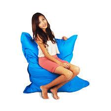 Giant Pillow Bean Bag Blue