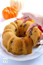 Healthy Chocolate Pumpkin Desserts by Pumpkin Chocolate Chip Bundt Cake Instant Pot A Pinch Of Healthy