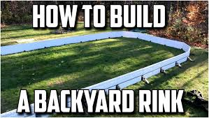 Backyards: Amazing Backyard Hockey Rink. Build Backyard Hockey ...