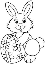 Easter Bunny Coloring Pages Pdf Page Printable Archives