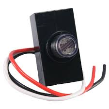 Defiant 1800 Watt Outdoor Post Mount Button cell Black EZ