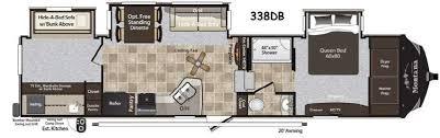 Montana 5th Wheel Floor Plans 2015 by Used 2015 Keystone Rv Montana High Country 338db Fifth Wheel At