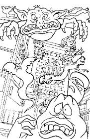 Crafty Design Ideas Ghostbusters Coloring Pages