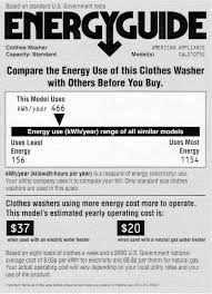 The EnergyGuide Label Evaluation And Recommendations For An Improved Design