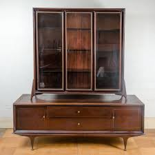 Mid Century Modern Credenza And Display Cabinet