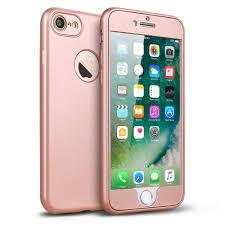 iPhone 7 Case Hallsen [Full Body Protection]360 Degree Flexible