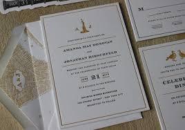 Beautiful Letterpress Wedding Invitations Sansalvaje