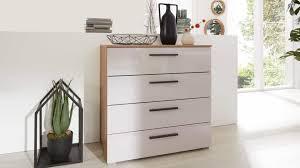 interliving schlafzimmer serie 1021 schubladenkommode 6h44 soft grey eiche artisan vier schubladen