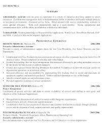 Resume Samples Administrative Assistant