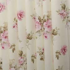 Curtain Materials In Sri Lanka by Vintage Chintz Shabby Roses Print Retro 100 Cotton Curtain
