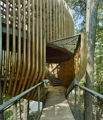 100 Tree House Studio Wood Slender Pine Slats Enclose Evans In Arkansas By
