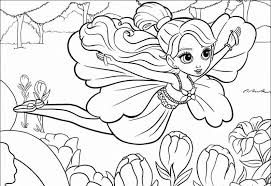 Coloring Page Barbie For Print And