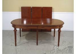 Descriptions Item 36035 JOHN WIDDICOMB French Louis XV Mahogany Dining Room Table