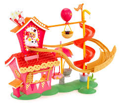 Lalaloopsy Bed Set by Lalaloopsy Mini Silly Fun House Play Set With Misty Mysterious