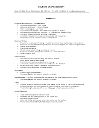 comprehensive resume sle http jobresumesle 932