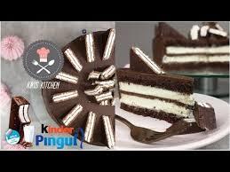 kinder pingui torte schokotorte mit mascarpone sahne pingui geburtstagstorte kikis kitchen