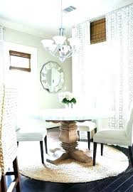 Area Rug Under Dining Room Table Round Rugs For Best