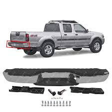 100 1998 Nissan Truck Amazoncom MBI AUTO Steel Chrome Complete Rear Bumper Assembly