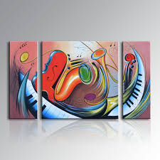 Abstract Acrylic Painting Techniques Canvas Wall Easy