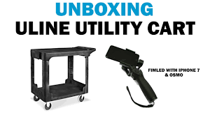 Assembling Uline Rubbermaid Cart