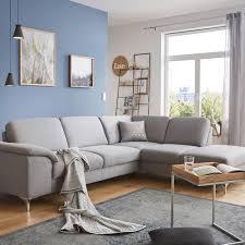 graues sofa in l form eine wohnlandschaft zum wohlfühlen