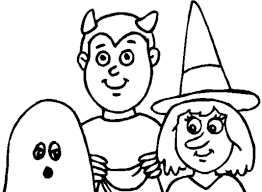 Kids Halloween Coloring Pages Free Printable For Images