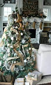 Rustic Christmas Tree Chic Star Toppers