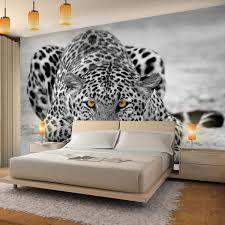 fototapeten leopard 352 x 250 cm vlies wand tapete
