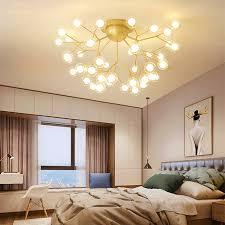moderne romantische firely led deckenleuchten für wohnzimmer