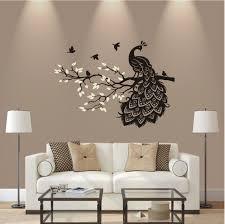 wandtattoo ast baum mit vogel blume oracal matt wohnzimmer
