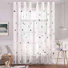 tonsee gardinen blickdicht lange vorhang wohnzimmer