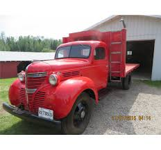 1939 Fargo Red Truck 2 Ton