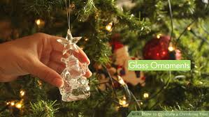 Saran Wrap Christmas Tree With Ornaments by How To Decorate A Christmas Tree With Pictures Wikihow