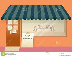 Display Clipart Store Window 7