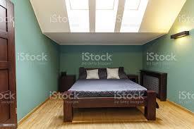 moderne schlafzimmer in türkis farben stockfoto und mehr bilder architektur