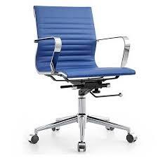 otis modern office chair blue